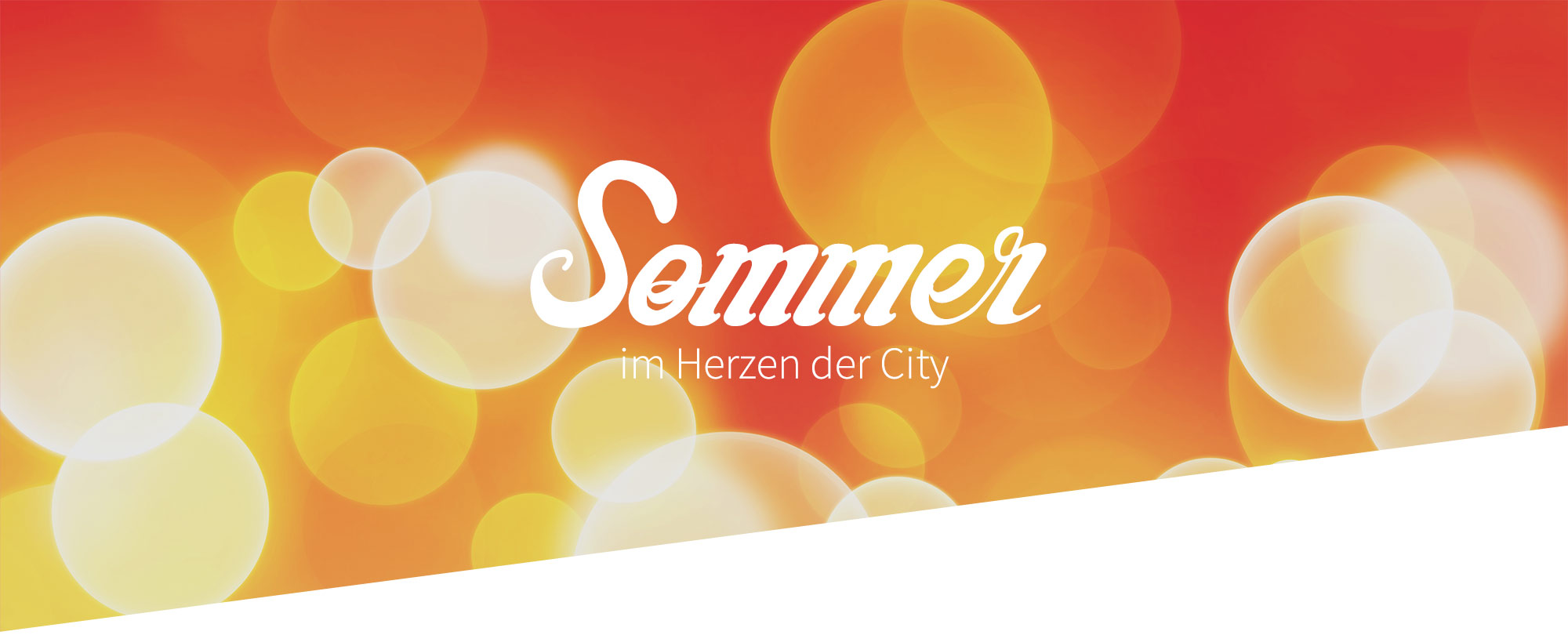 Sommer im Stadtmarkt Dornbirn