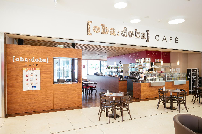 cafe oba:doba im Stadtmarkt