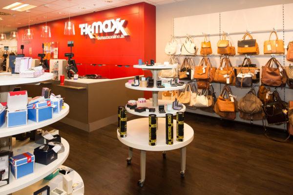 Einkaufen bei TK maxx